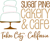 Sugar Pine Cakery & Cafe Logo